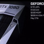 NVIDIA announces the GeForce 1000 series of video cards