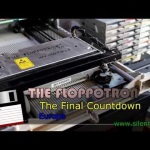 Floppy drives, flatbed scanners, and hard drives play Europe's 'The Final Countdown'