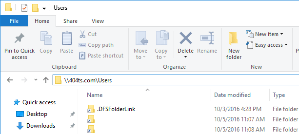 dfsfolderlink-shortcut