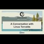 The Linux Foundation has a conversation keynote on Linus Torvalds