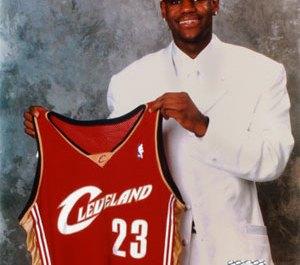 Young LeBron James