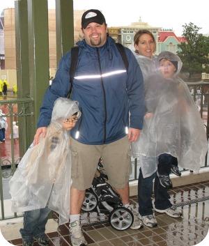 Wet Day At Disney