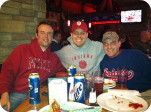 Mark, Pip & Al At Cadillac Ranch