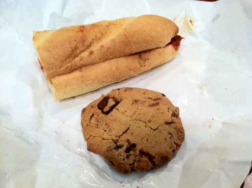 Meatball Sub & Cookie
