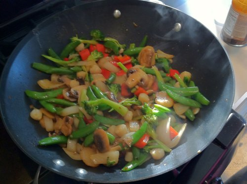 Stir Fried Dinner