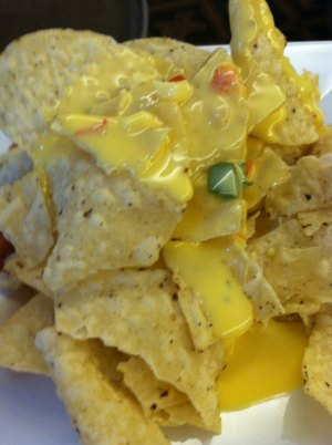Nachos During Happy Hour
