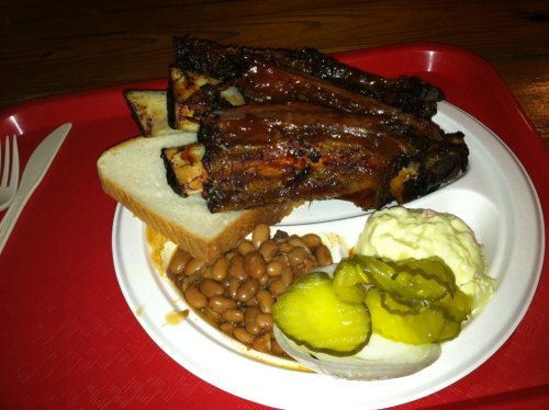 Texas BBQ From Iron Works