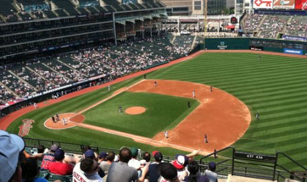 A Day Game From The Upper Deck