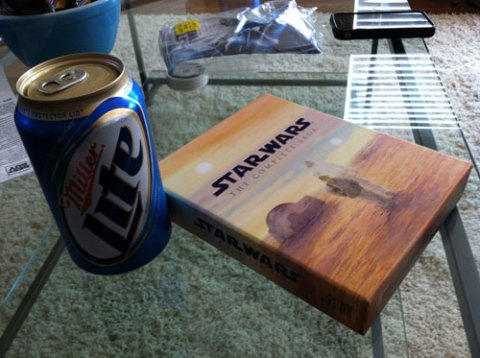 Miller Lite & Star Wars On Blu Ray
