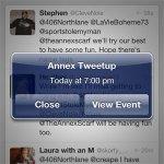 The First Annex TweetUp
