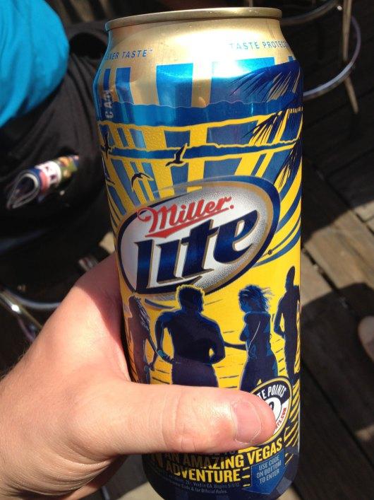 Progressive Field - Miller Lite Can