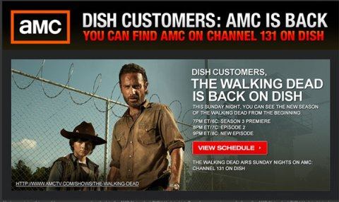 DISH Customers - AMC Is Back