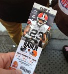 2012 Game #8 - Browns Vs. Steelers