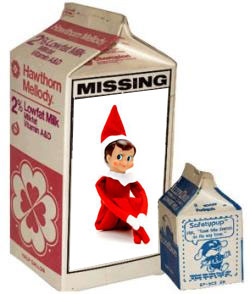 Missing Elf On The Shelf