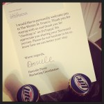 A Personal Note From The Staff Of The Westin St Francis