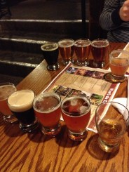Great Lakes Brewery Flight