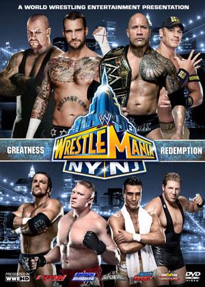 WrestleMania 29 Poster