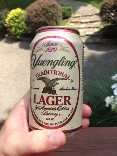 Yuengling Lager On Big Bass Lake