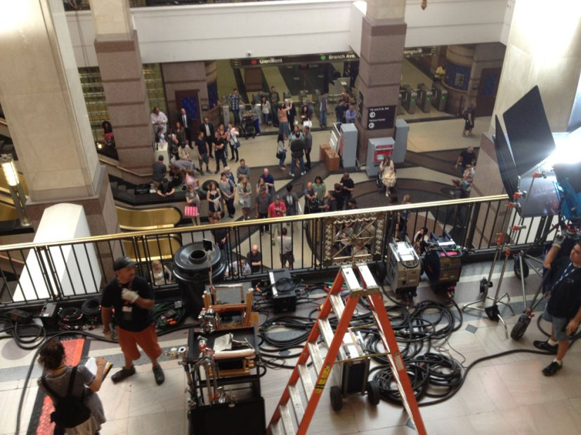 On Set For Captain America: The Winter Soldier (6)