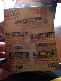 Cabo - Drink Specials At The Cantina