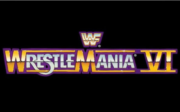 WrestleMania 6 Logo