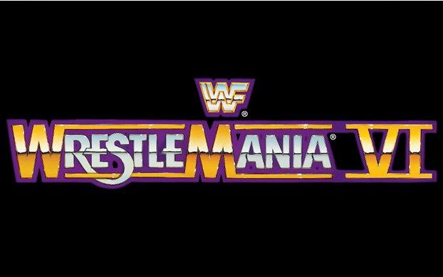 WrestleMania 6 Logo