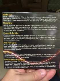 DDP Yoga - Discs 3 & 4 Back