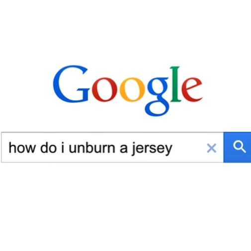 How Do I Unburn A Jersey