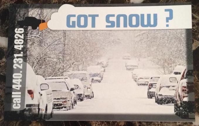 2014 Got Snow Flyer Front
