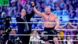 WrestleMania 30 Brock Wins