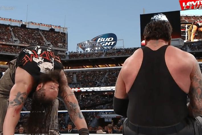 WrestleMania 31 - Bray Taker