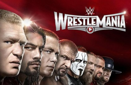 WrestleMania 31 Wide Poster