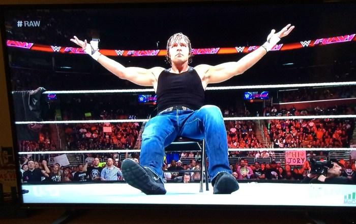 Dean Ambrose On RAW