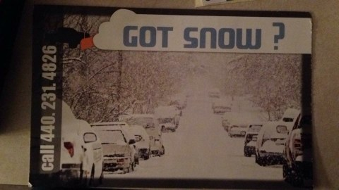 2015 Got Snow Flyer Front
