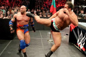 TLC 2015 - Ryback vs Rusev