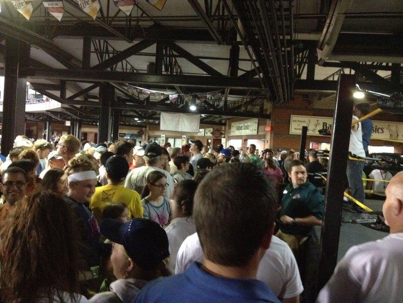 Midget Wrestling 2012 - Crowd