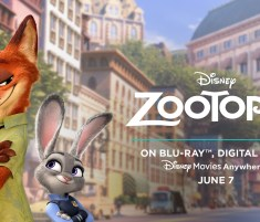 Zootopia Arrives Home Tuesday, June 7