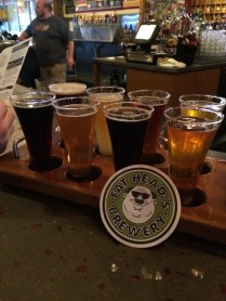 Wrestlemania 32 Weekend - Fat Head's Brewery Flight