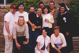 Indiana University Graduation Day 1999