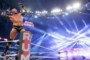 Royal Rumble 2017 Randy Orton