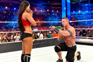 WrestleMania 33 - Cena Bella vs Miz Maryse