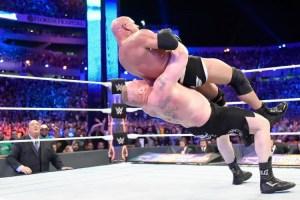 WrestleMania 33 - Lesnar vs Goldberg