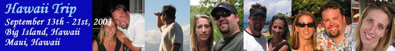 Hawaii Trip 2003 Header