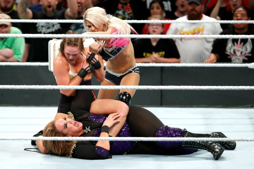 Money In The Bank (2018) Rousey vs Jax Bliss