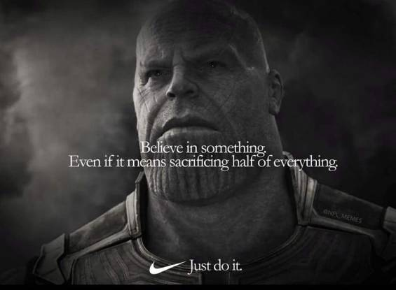 Just Do It - Thanos