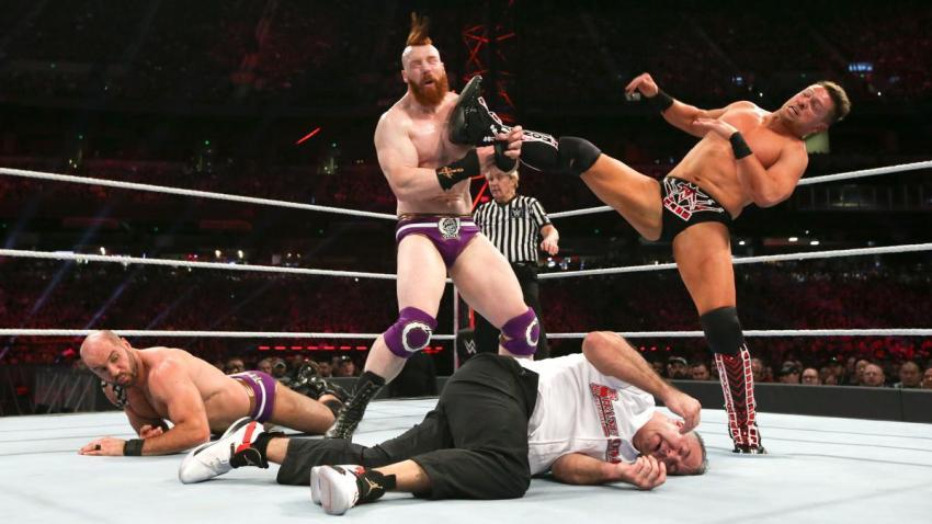 2019 Royal Rumble - Bar vs. Shane & Miz
