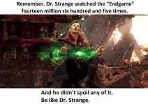 Dr. Strange No Spoilers