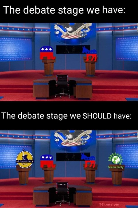 The Debate Stage We Have