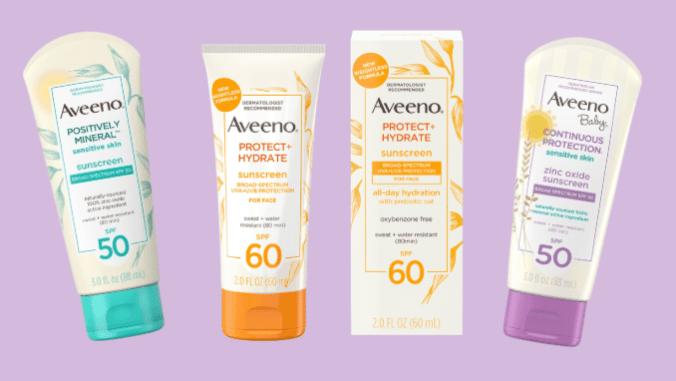 Aveeno Facial Sunscreen