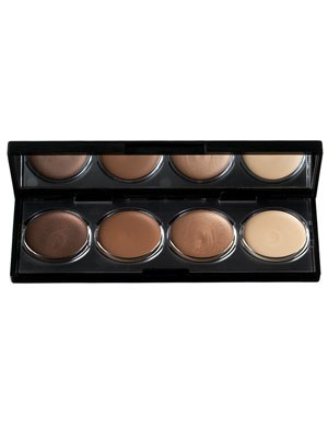 Apply a shadow one shade darker than your skin in the crease of the eye.